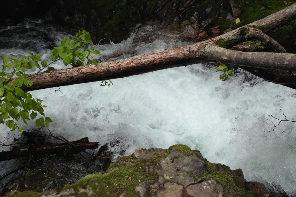 平和の滝 下段の滝