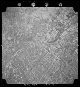 1971年空中写真