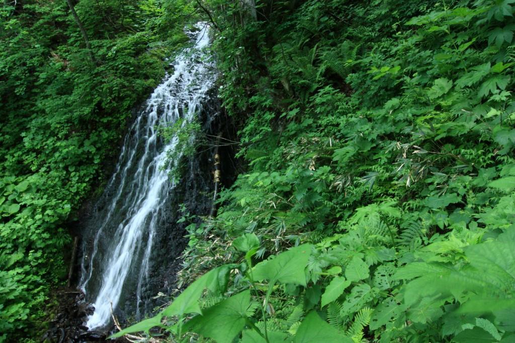 布敷の滝 別アングル
