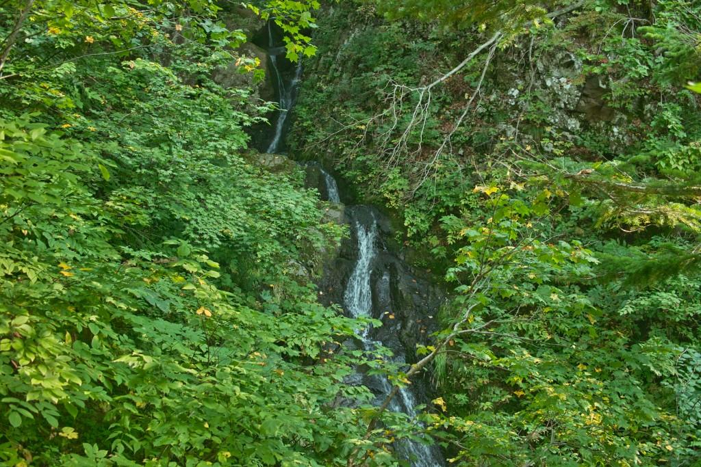 熊の沢川の滝